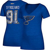 CCM Women's St. Louis Blues Vladimir Tarasenko #91 Royal T-Shirt