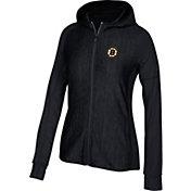 adidas Women's Boston Bruins Logo Black Full-Zip Hoodie