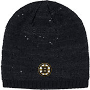 adidas Women's Boston Bruins Fashion Black Beanie