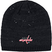 adidas Women's Washington Capitals Fashion Black Beanie
