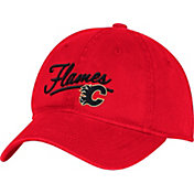 adidas Women's Calgary Flames Red Slouch Adjustable Hat