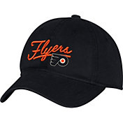adidas Women's Philadlephia Flyers Black Slouch Adjustable Hat