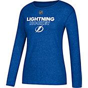 CCM Women's Tampa Bay Lightning Dassler Royal Long Sleeve Shirt
