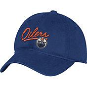 adidas Women's Edmonton Oilers Navy Slouch Adjustable Hat