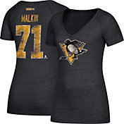 CCM Women's Pittsburgh Penguins Evgeni Malkin #71 Black T-Shirt