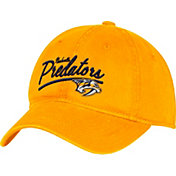 adidas Women's Nashville Predators Gold Slouch Adjustable Hat