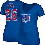 CCM Women's New York Rangers Jimmy Vesey #26 Royal T-Shirt