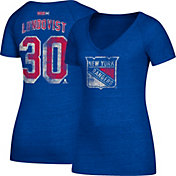 CCM Women's New York Rangers Henrik Lundqvist #30 Royal T-Shirt