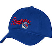 adidas Women's New York Rangers Royal Slouch Adjustable Hat