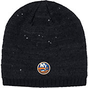 adidas Women's New York Islanders Fashion Black Beanie