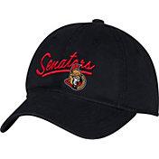 adidas Women's Ottawa Senators Black Slouch Adjustable Hat