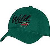 adidas Women's Minnesota Wild Green Slouch Adjustable Hat