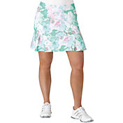 adidas Women's Pleated Fashion Floral Golf Skort