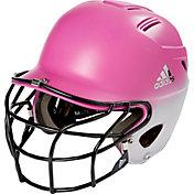 adidas OSFM Fade Fastpitch Batting Helmet w/ Facemask