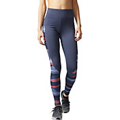 adidas Women's Performer Camono Stripe-Print High-Rise Tights