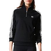 adidas Originals Woman's Half Zip Sweatshirt