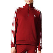 adidas Originals Woman's Half Zip Sweatshirt