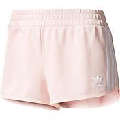 adidas Originals Women's Pink Regular Shorts