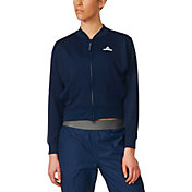 adidas Women's Stella McCartney Barricade Core Tennis Jacket