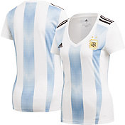 adidas Women's Argentina Replica Home White Stadium Jersey