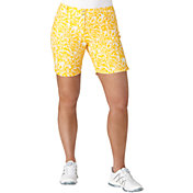 "adidas Women's Essential Printed 7"" Golf Shorts"