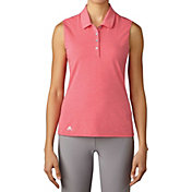adidas Women's Essentials Sleeveless Golf Polo