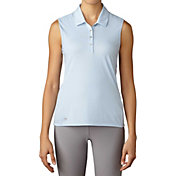 adidas Women's Essentials Sleeveless Golf Polo