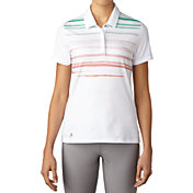 adidas Women's Merch Stripe Golf Polo