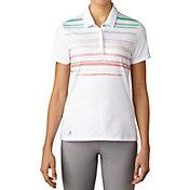 adidas Women's Merch Stripe Golf Polo