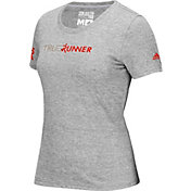 adidas Women's True Runner Logo Graphic T-Shirt