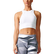 adidas Women's Warp Knit Crop Tank Top