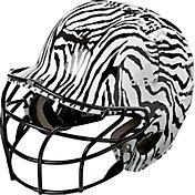 adidas OSFM Zebra Fastpitch Batting Helmet w/ Facemask