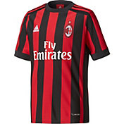 adidas Youth AC Milan 17/18 Replica Home Jersey