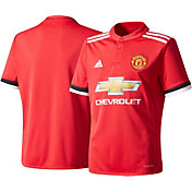 adidas Youth Manchester United 17/18 Replica Home Jersey