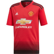 adidas Youth Manchester United 2018 Stadium Home Replica Jersey