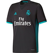 adidas Youth Real Madrid 17/18 Replica Away Jersey