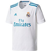 adidas Youth Real Madrid 17/18 Replica Home Jersey