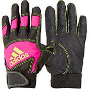 adidas Girls' T-Ball Batting Gloves 2018