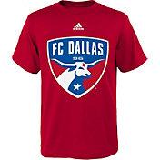 adidas Youth FC Dallas Big Logo Red T-Shirt