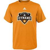 adidas Youth Houston Dynamo Big Logo Orange T-Shirt