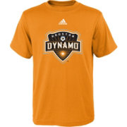 adidas Youth Houston Dynamo Big Logo Orange T-Shirt