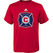 adidas Youth Chicago Fire Big Logo Red T-Shirt