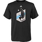 adidas Youth Minnesota United FC Big Logo T-Shirt