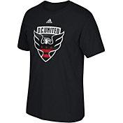 adidas Youth DC United Big Logo Black T-Shirt