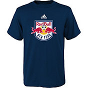 adidas Youth New York Red Bulls Big Logo Navy T-Shirt