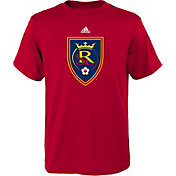 adidas Youth Real Salt Lake Big Logo Red T-Shirt