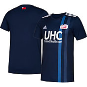 adidas Youth New England Revolution Primary Replica Jersey