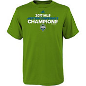 adidas Youth 2017 MLS Western Conference Champions Seattle Sounders Green T-Shirt