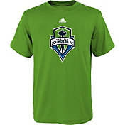 adidas Youth Seattle Sounders Big Logo Green T-Shirt
