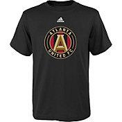 adidas Youth Atlanta United Big Logo Black T-Shirt
